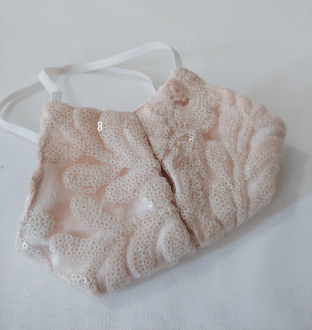 Sequin cream mask