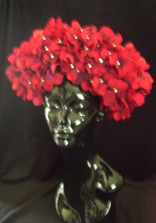 Red Cluster full body Headband