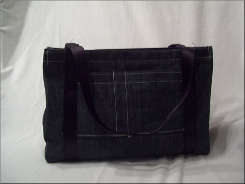 Blue Denim Totebag